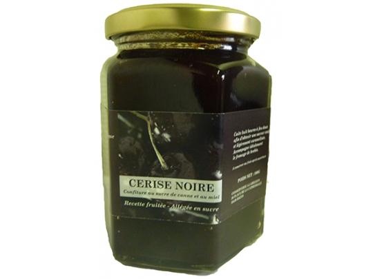 Confiture de cerises noires 300g