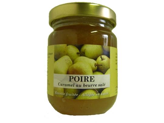 Confiture de poire au caramel beurre salé 100g