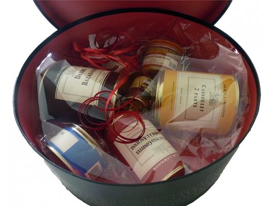 Boîte à chapeau - Coffret Cadeau
