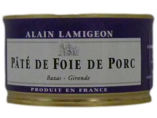 P t de foie de porc 135g lamigeon conserverie fond e - Pate de porc maison ...