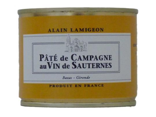 Pâté de Campagne au vin de Sauternes 200g