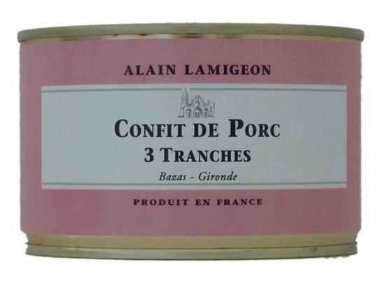 Confit de Porc 3 tranches 300g
