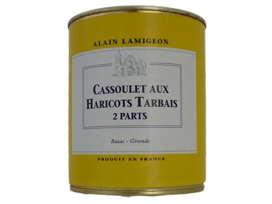 Cassoulet  aux Haricots Tarbais 2 parts