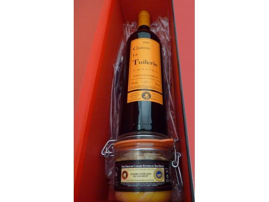 Coffret Vin + foie 180g