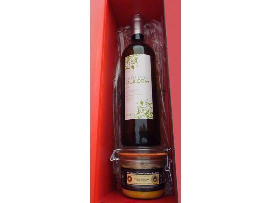 Coffret Vin blanc+ foie 180g