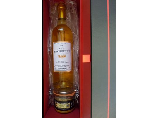 Coffret Vin de Sauternes + foie 180g