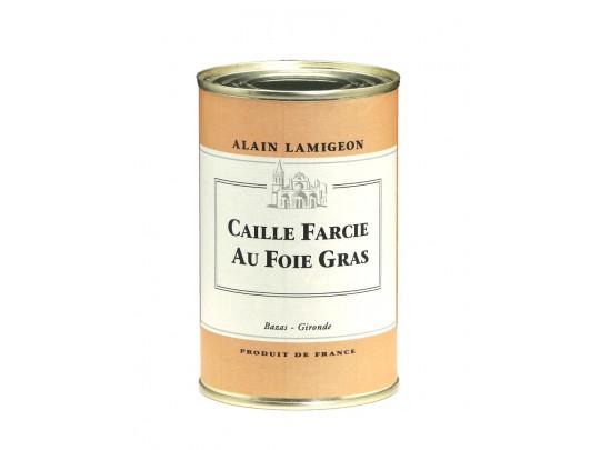 Caille Farcie au Foie Gras 450g